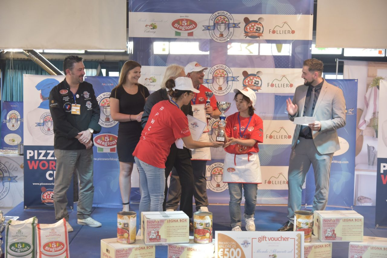 Pizza World Cup 2019 team Giancarlo Tokyo