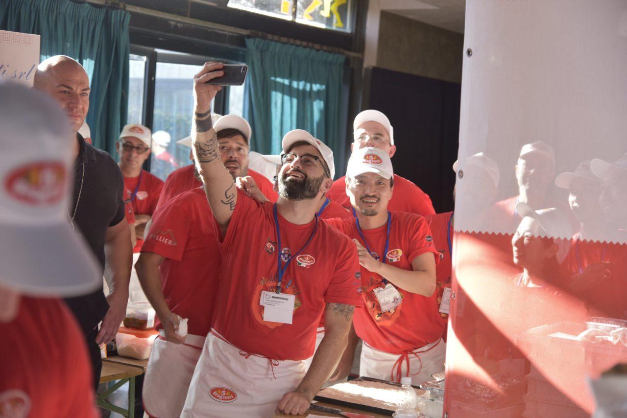 Misao Ozone Tokyo Japan Super Campione Pizza World Cup 2019 primo classificato batteria Margherita Doc Doc